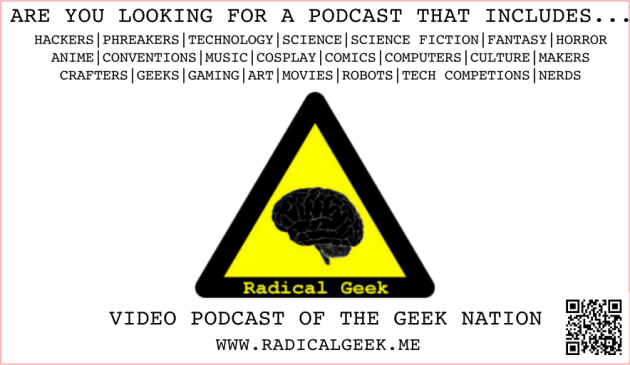 Radical Geek Promo Cards