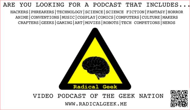 Radical Geek Promo Cards